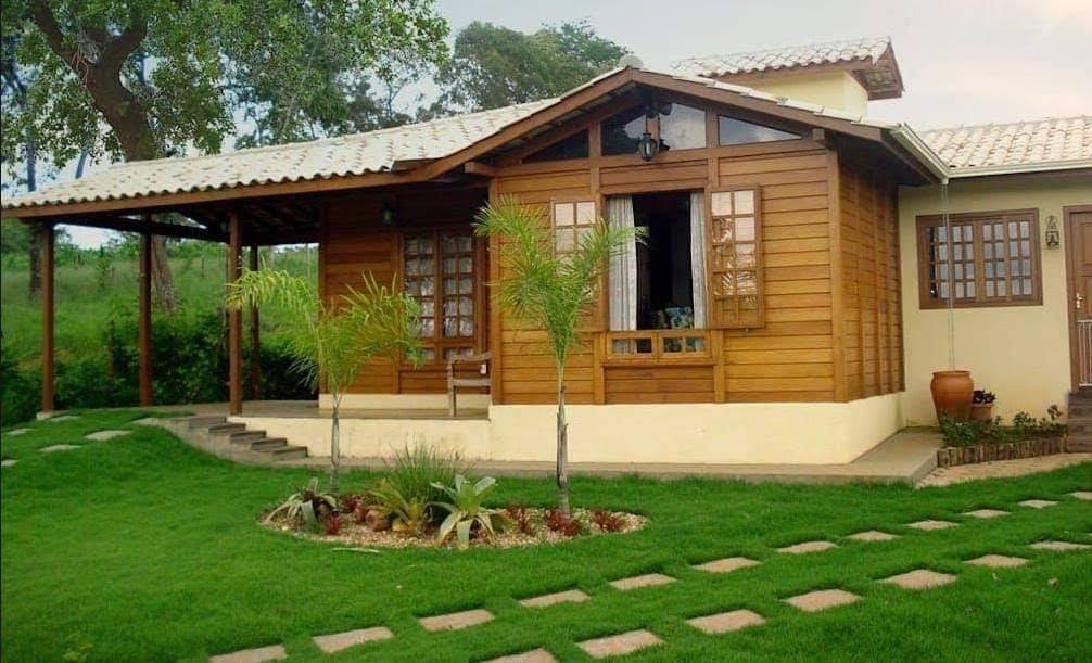 Casas de campo modernas de un piso
