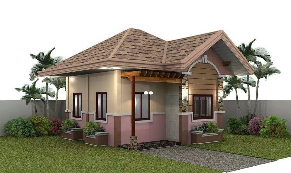 Casas de campo modernas pequeñas