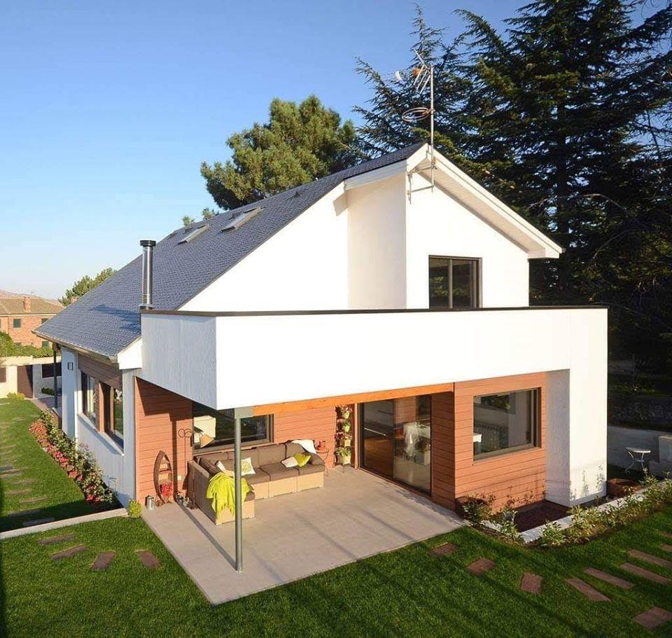 Casas de campo modernas y sencillas