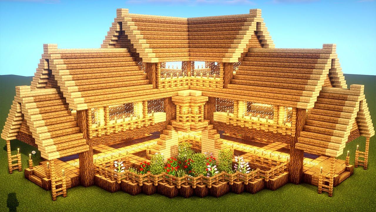 Planos para casas de Minecraft grandes