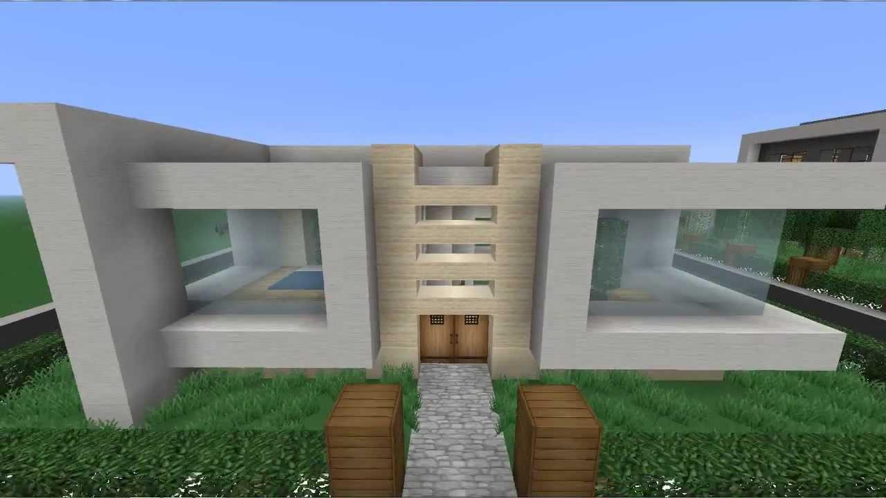 Planos para casas de Minecraft modernas