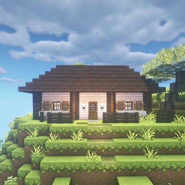 Planos para casas de Minecraft sencillas