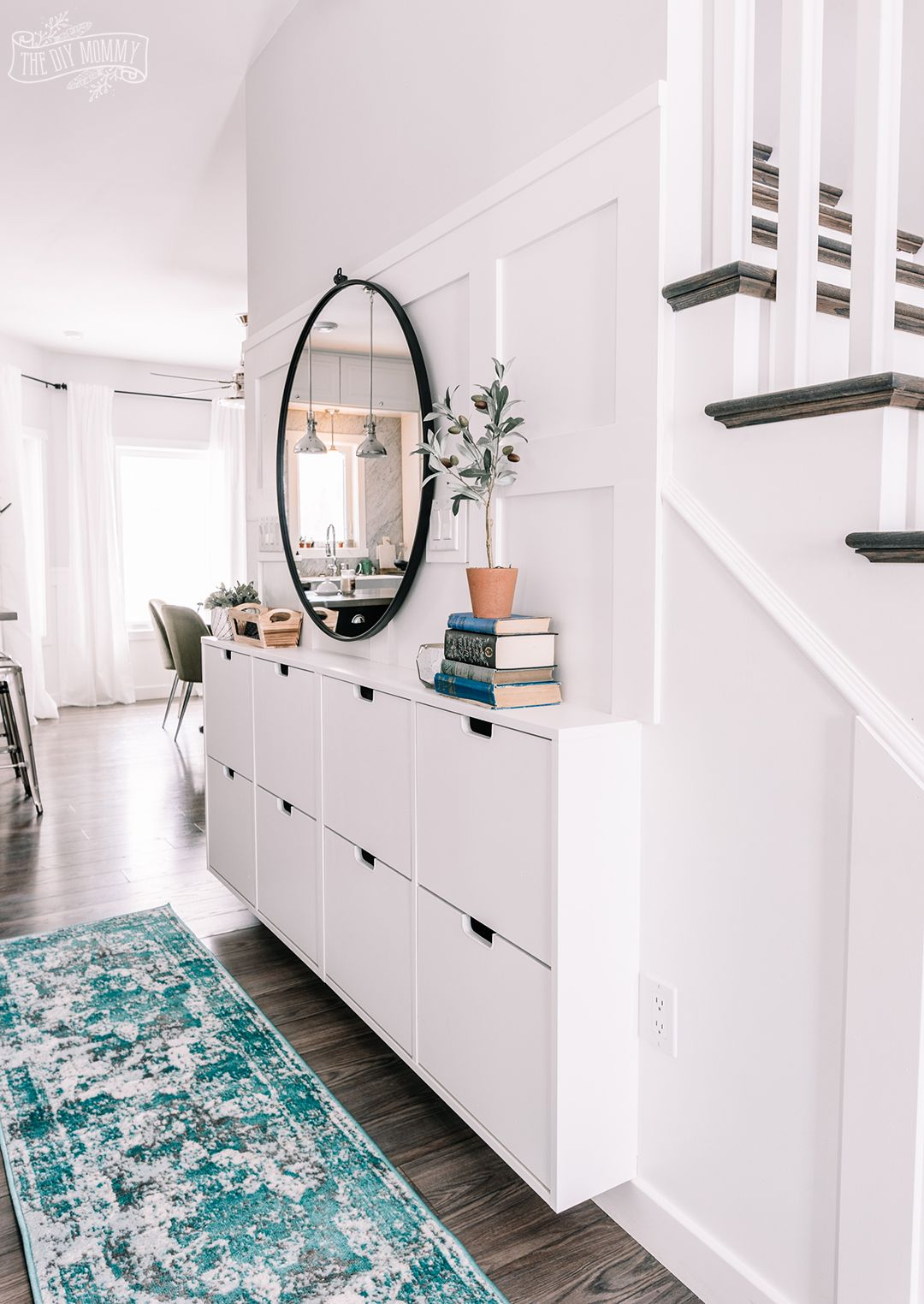 Recibidores modernos para espacios pequeños