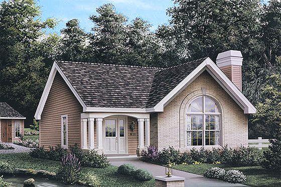 Casa estilo americano con detalles elegantes