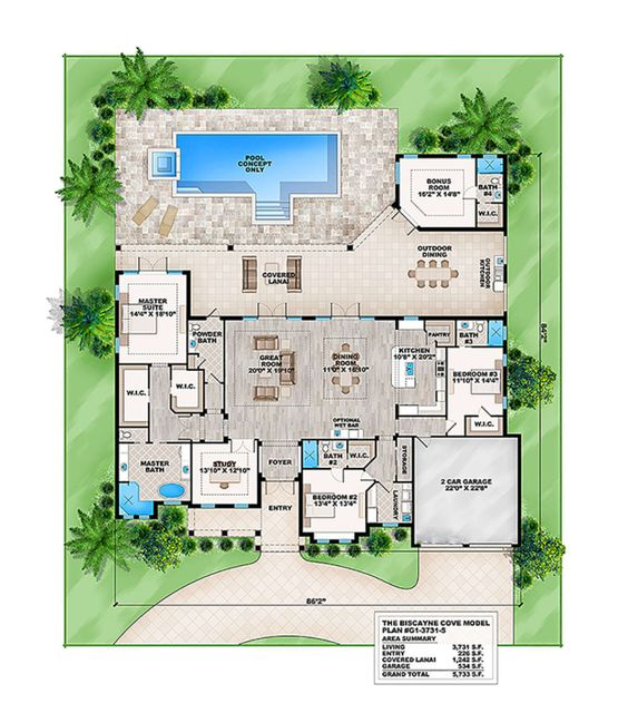 Casa residencial con piscina y estudio personal