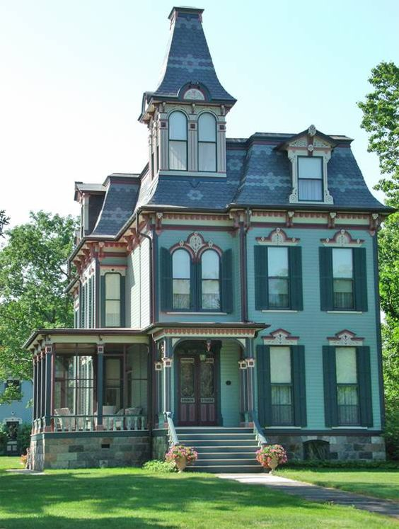 Estilo victoriano para casas antiguas