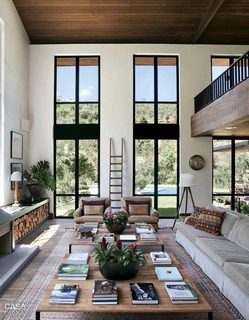 Fachada de balcón interno