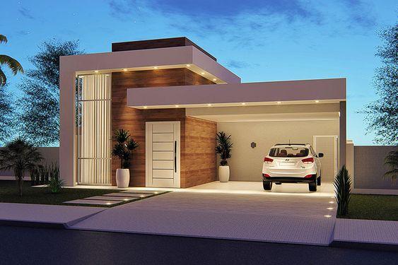 Cómo lograr una fachada moderna con una casa de dos pisos