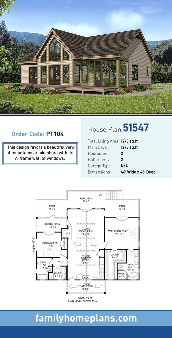 Estilo elegante para planos de casa rústica de campo