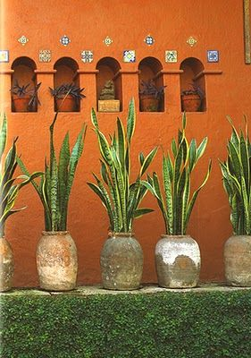 Colores de casas tipo hacienda