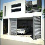 Diseños de casas con cochera techada
