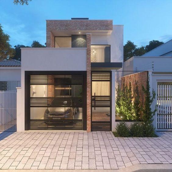 Diseños de casas de infonavit modernas
