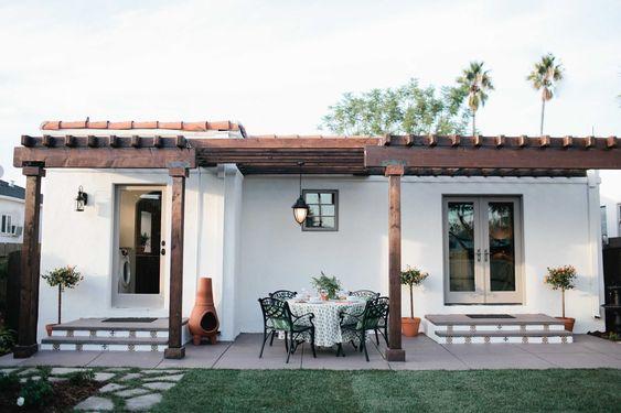 Fachadas de casas rústicas sencillas