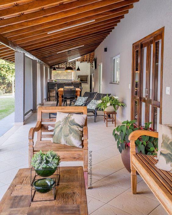 Ideas de casas de una planta con porche