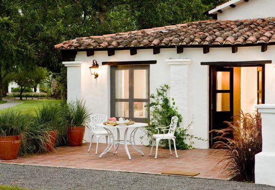 Materiales para fachadas de casas rústicas