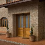 Modelos de casas rústicas de ladrillo