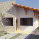 Fachadas de casas económicas