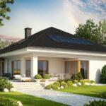 Fachadas de casas económicas y bonitas