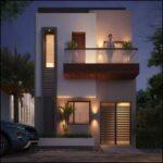 Materiales para casas pequeñas de dos pisos