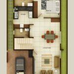 Planos de casas pequeñas de dos pisos