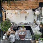 Iluminación para balcones pequeños y modernos