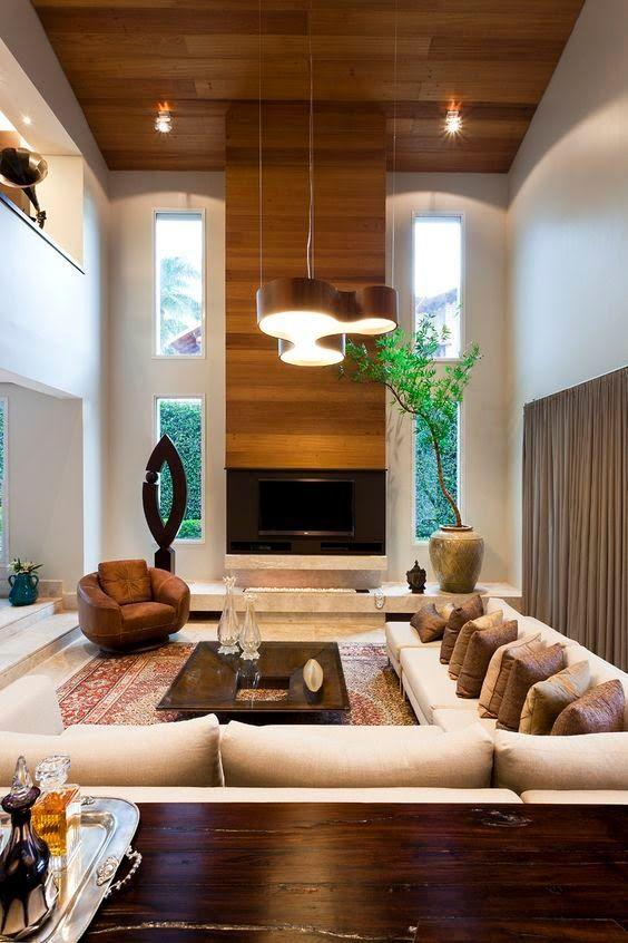 Casas de doble altura modernas
