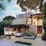 Casas pequeñas con cochera abajo y casa arriba