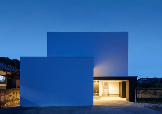 Arquitectura moderna en casas sin ventanas