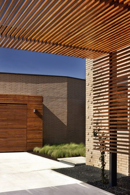 Casas diseñadas hacia adentro