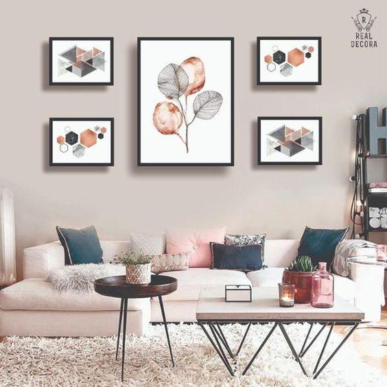 Decoración para las paredes de tu salaDecoración para las paredes de tu sala