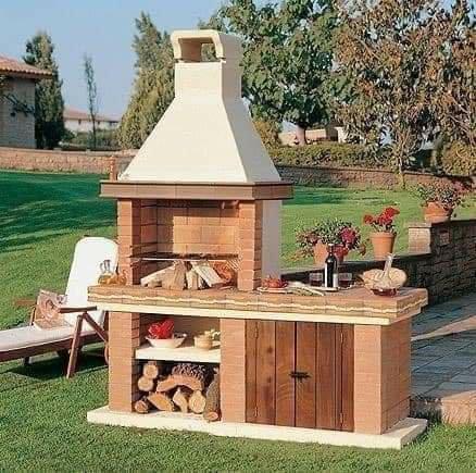 Propuestas de cocinas rústicas baratas exteriores
