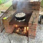 Cocinas al aire libre sencillas