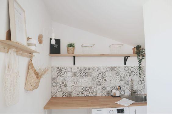 Encimeras de madera para una cocina moderna