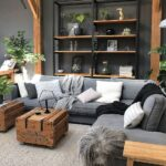 Salas de estar con un toque de madera