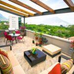 Colores para decorar balcones y terrazas