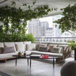 Accesorios decorativos para balcones y terrazas modernas
