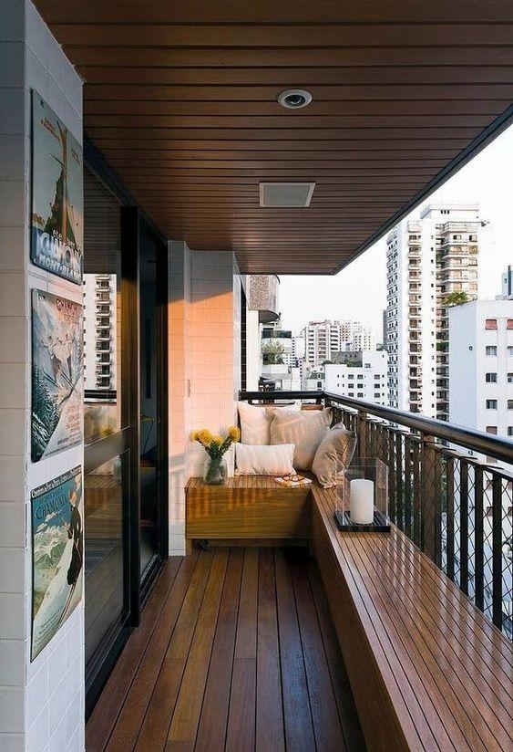 Balcones simples pero elegantes