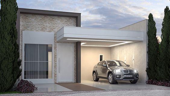 Opciones de fachadas de casas pequeñas modernas