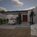 Diseños de casas pequeñas con cochera