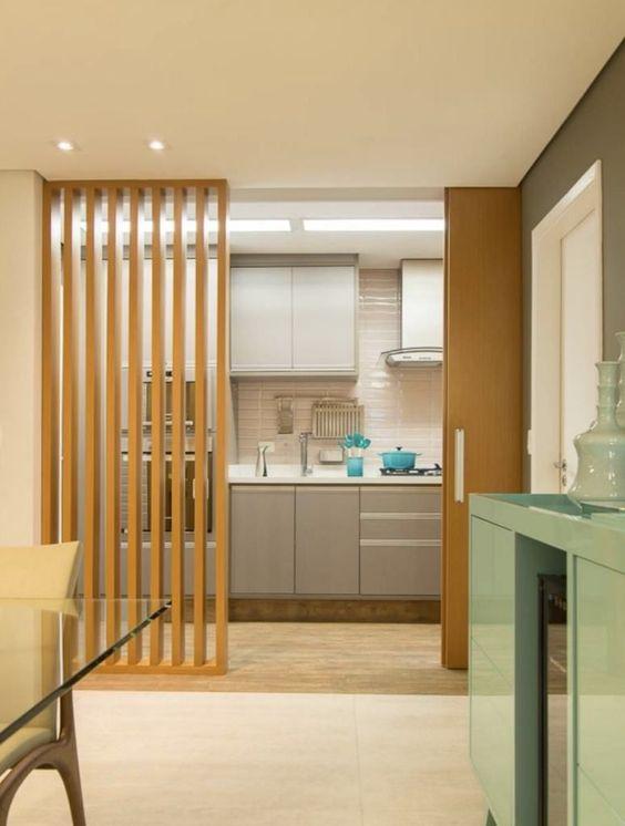 Divisiones interiores para casas modernas con espacios abiertos