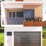 Colores para fachadas pequeñas