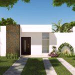 Ideas de fachadas de casas pequeñas con revestimientos