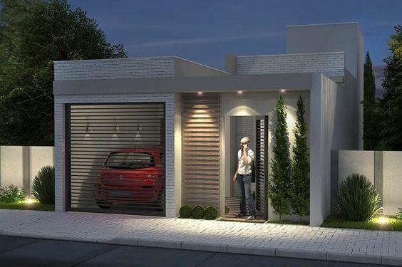 Diferentes estilos de fachadas para casas pequeñas