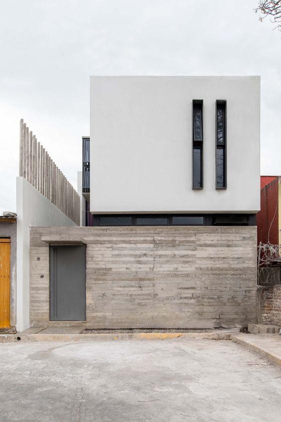 Diseños de casas introspectivas de dos pisos