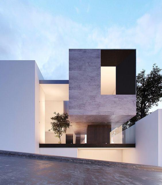 Casas introspectivas grandes