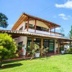 Ideas de casas de campo con terraza