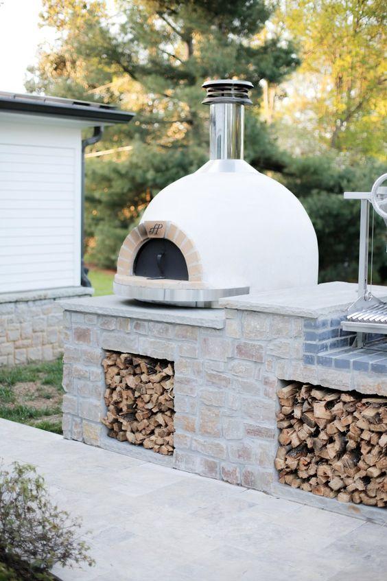 Ideas de hornos rústicos construido de piedra