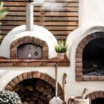 Hornos exteriores para casas rústicas de campo