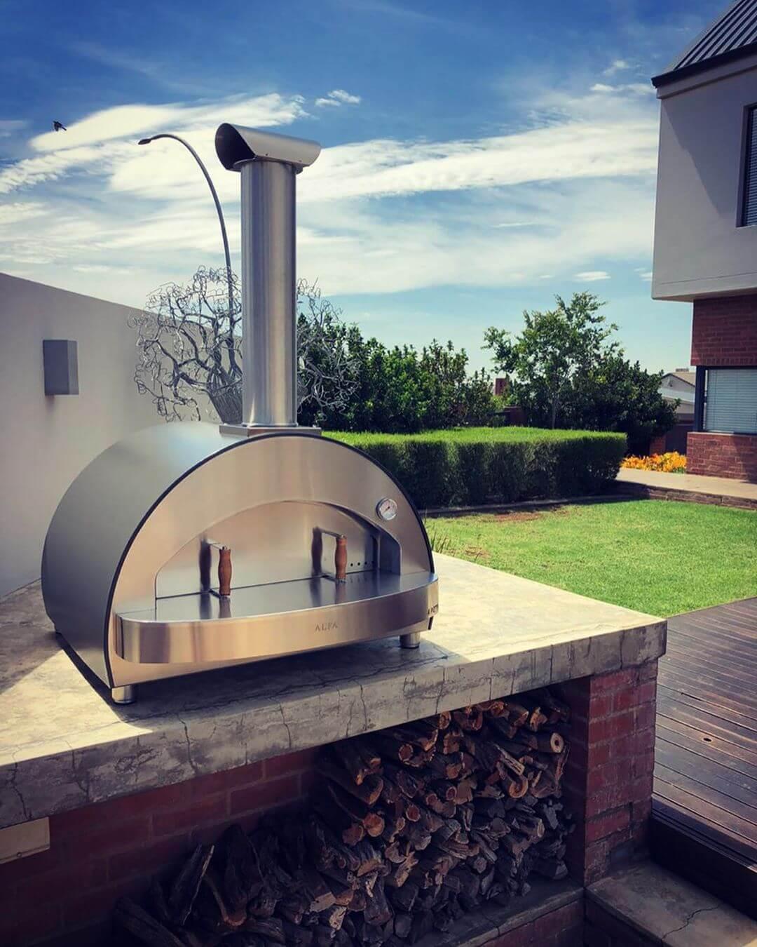 Hornos diseñados de acero inoxidable