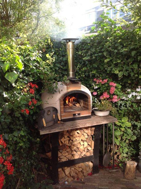 Diferentes tipos de hornos para exteriores